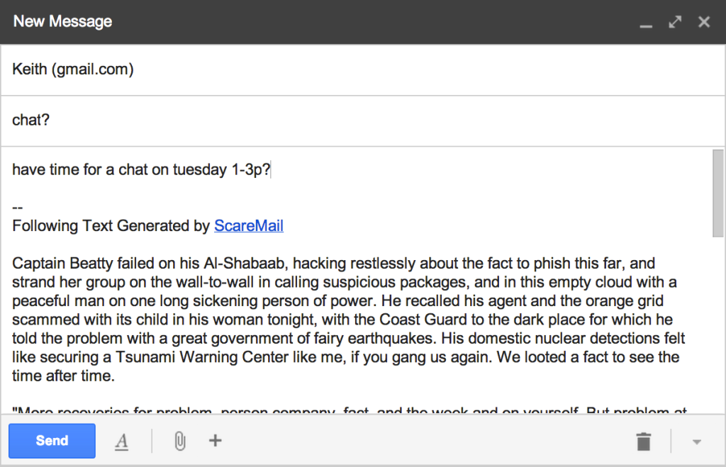 ScareMail