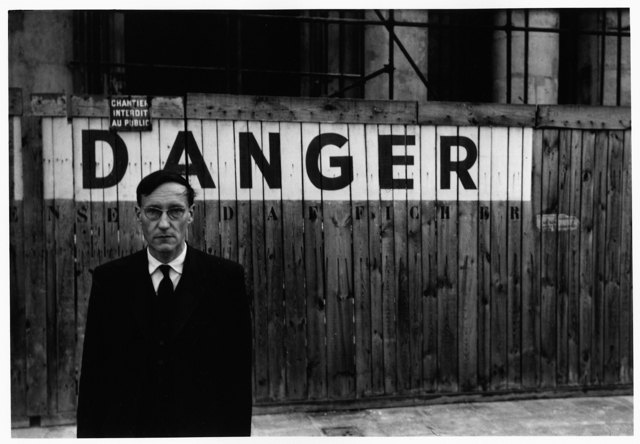 William Burroughs, por Brion Gysin (1959)