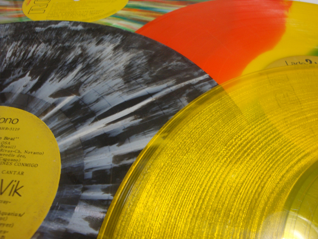 Viniles de color