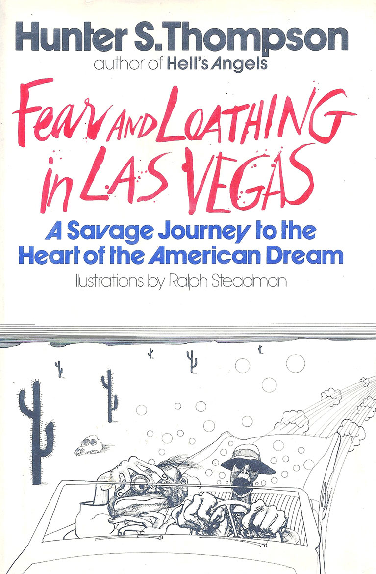 Fear and Loathing in Las Vegas, Hunter S. Thompson