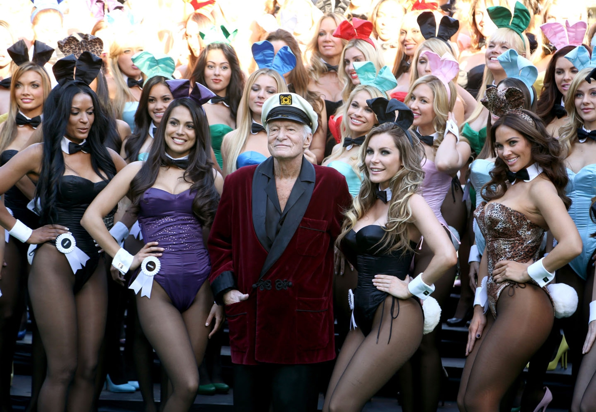 Hugh Hefner, 2013, Rachel Murray/Getty Images for Playboy/AFP