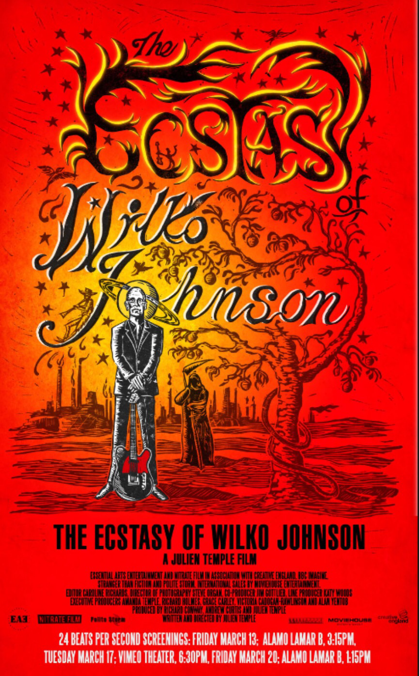 The ecstasy of Wilko Johnson, Julien Temple