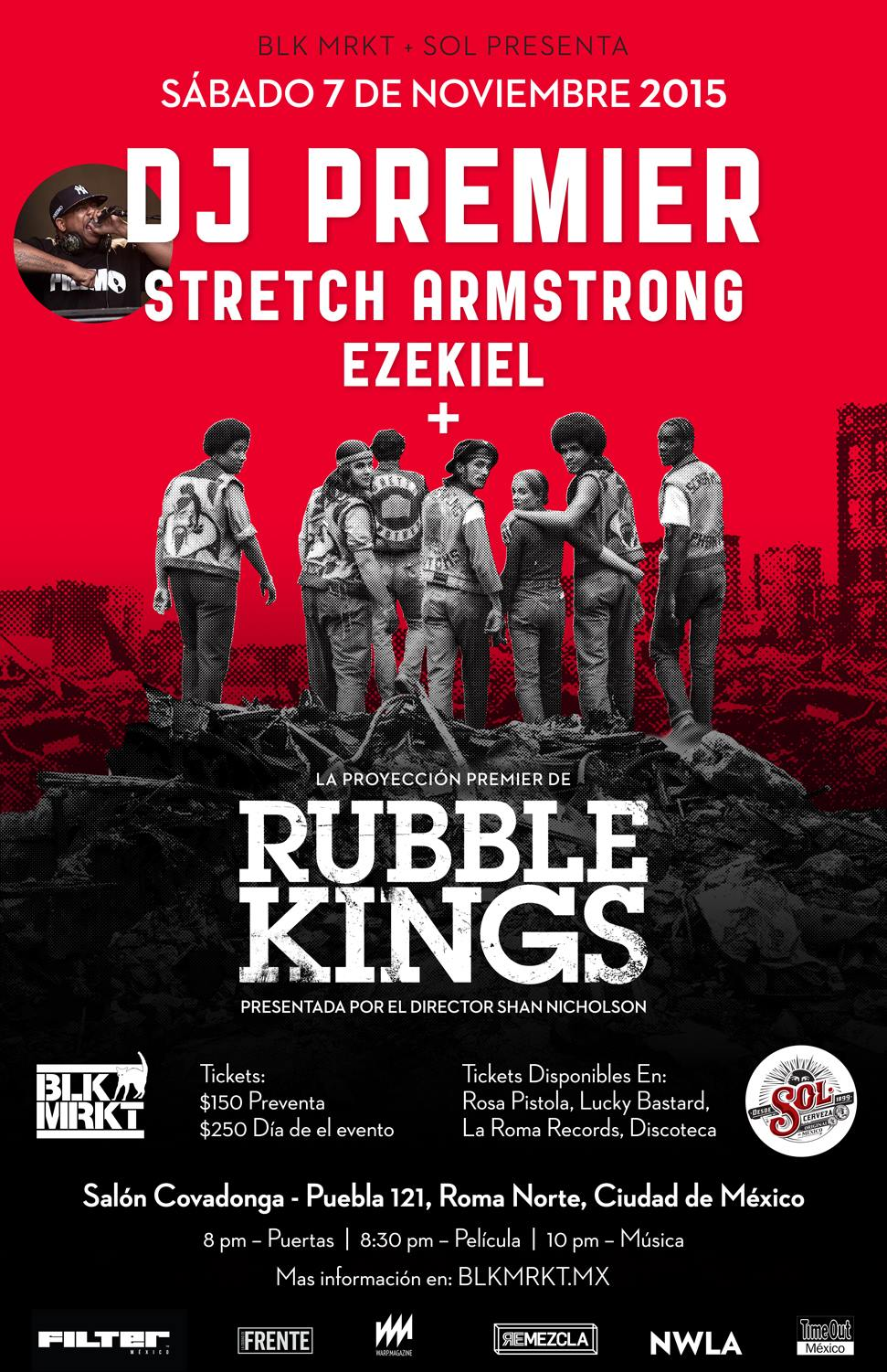 rubble kings POSTER MEXICO