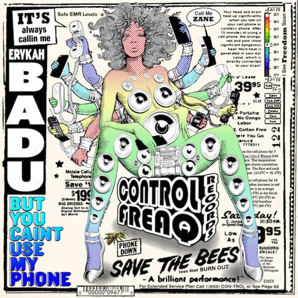 Erykah Baduh - But you caint use my pone