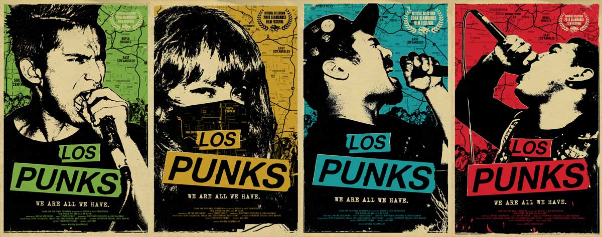 los punks we are all we have poster