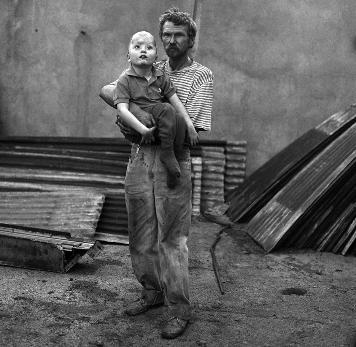 A boy named Gary, 1998, Roger Ballen