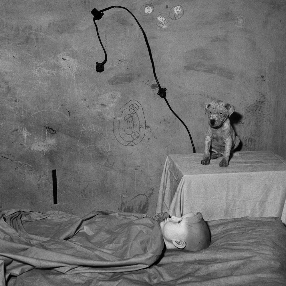 Chamber of the enigma, 2003, Roger Ballen.