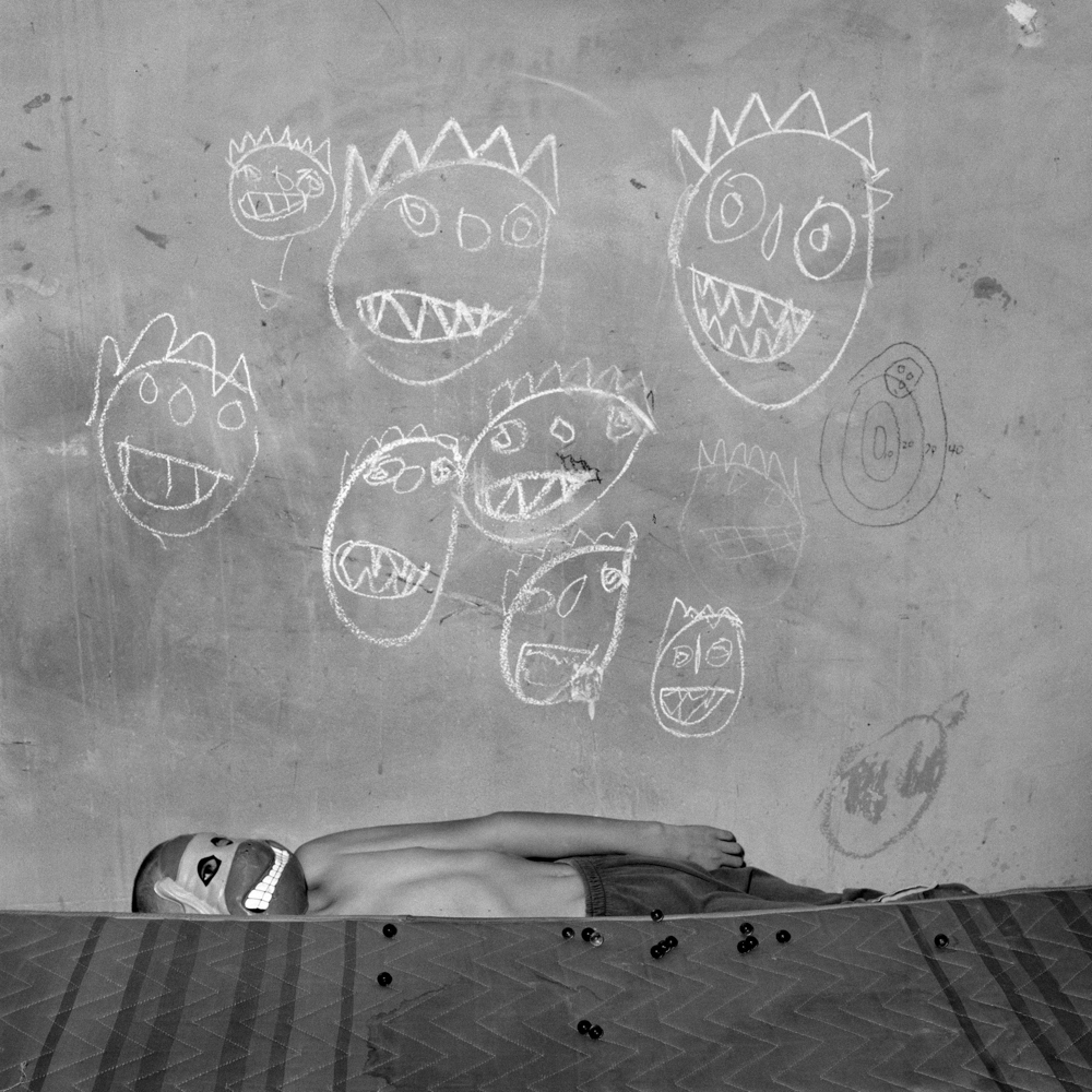 Room of the Ninja Turtles, 2003. Roger Ballen