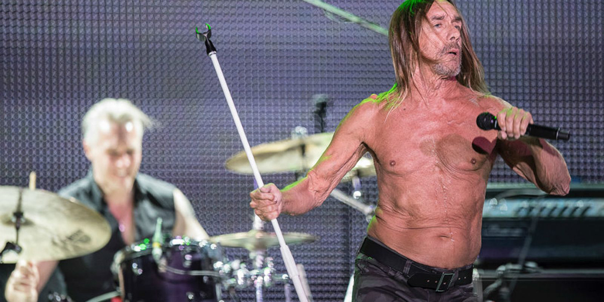 Iggy Pop en Mexico
