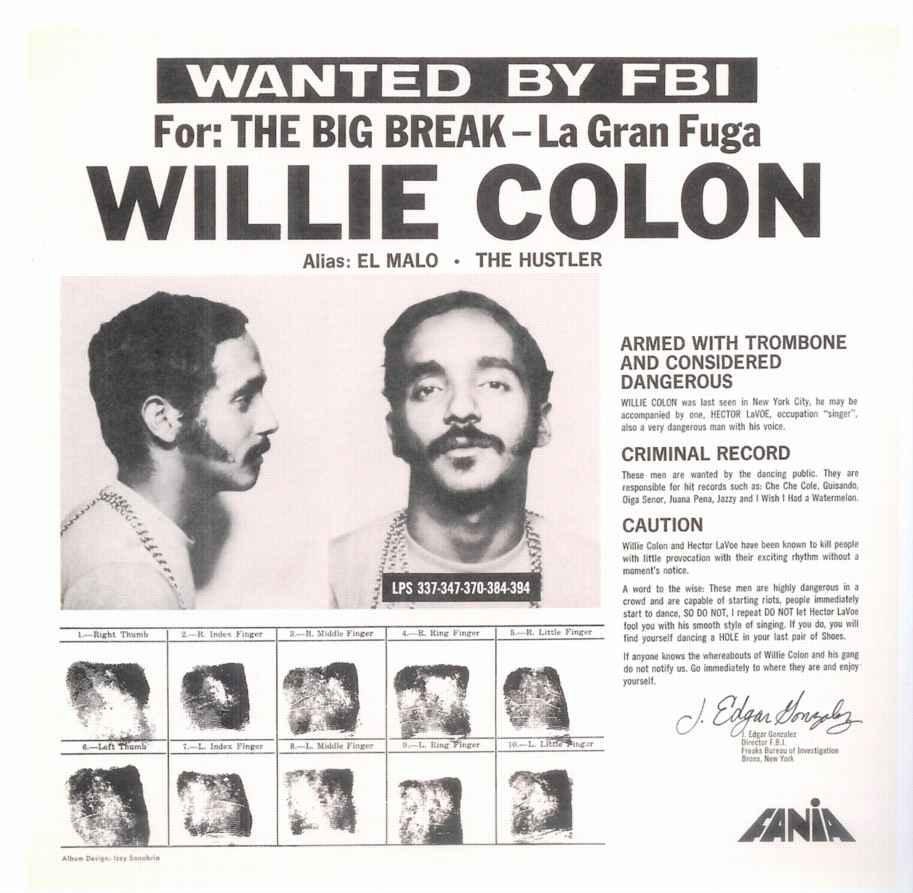willie colon, el malo