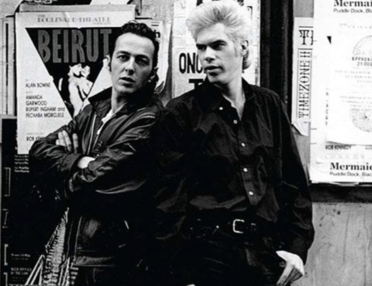 jim jarmusch y joe strummer