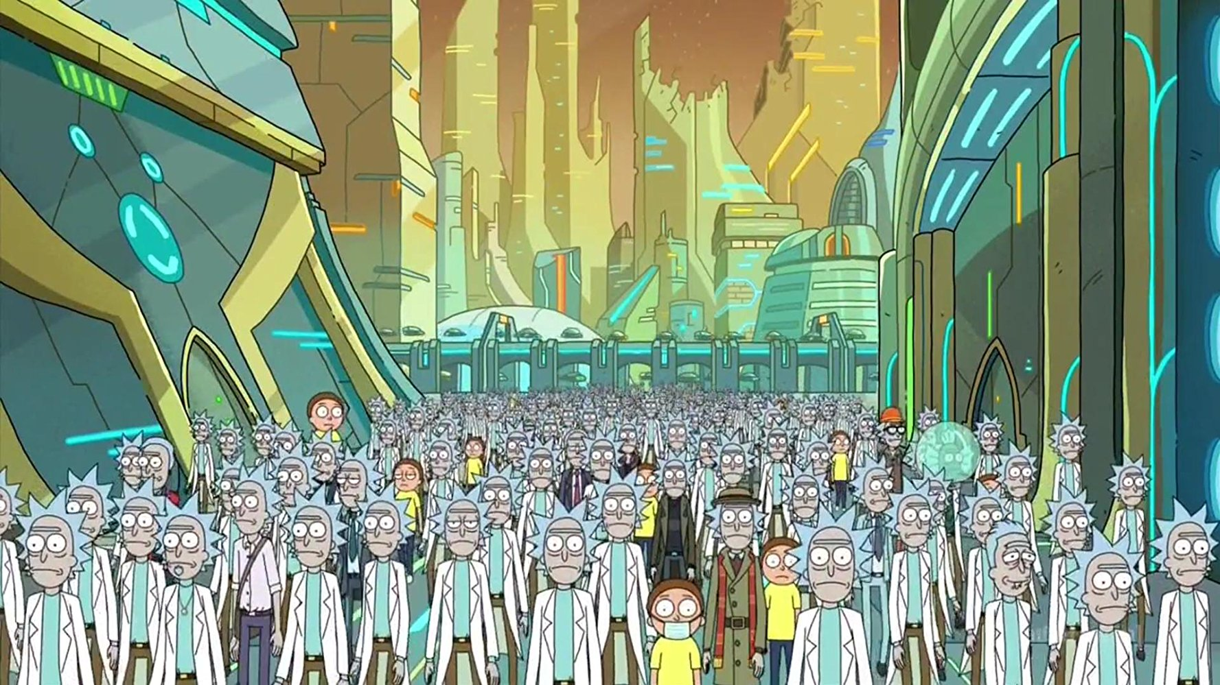 Rick & Morty serie