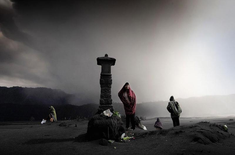 Viviendo en la sombra del monte Bromo
