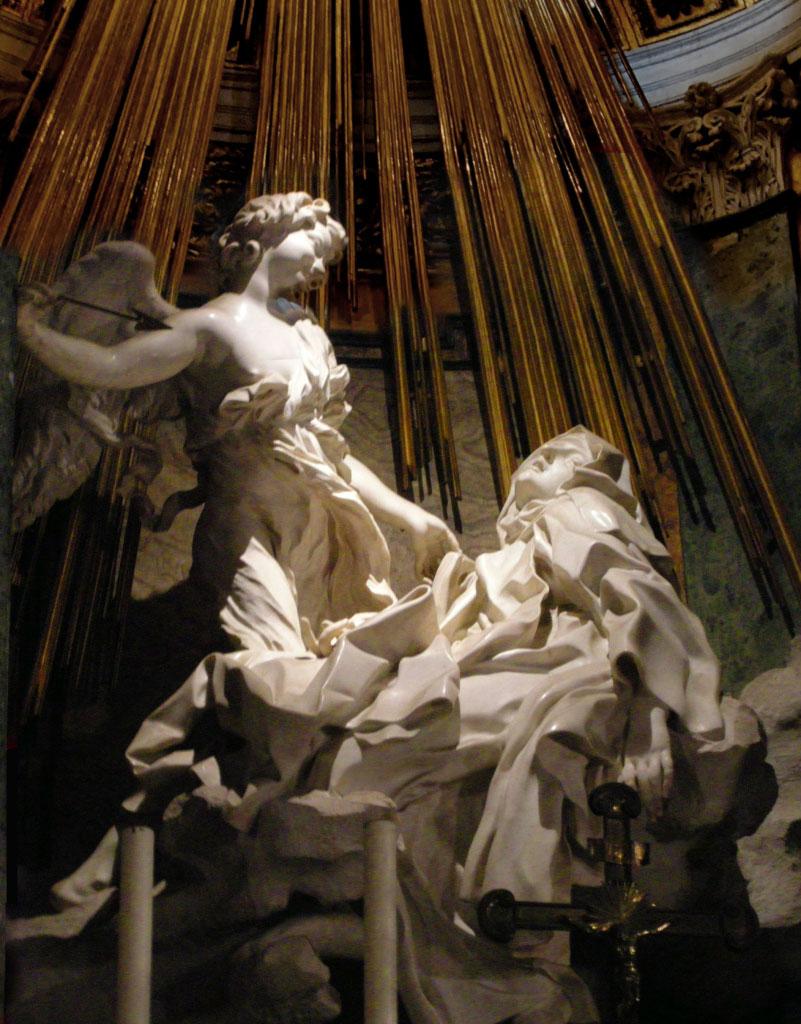 El extasis de Santa Teresa-1652