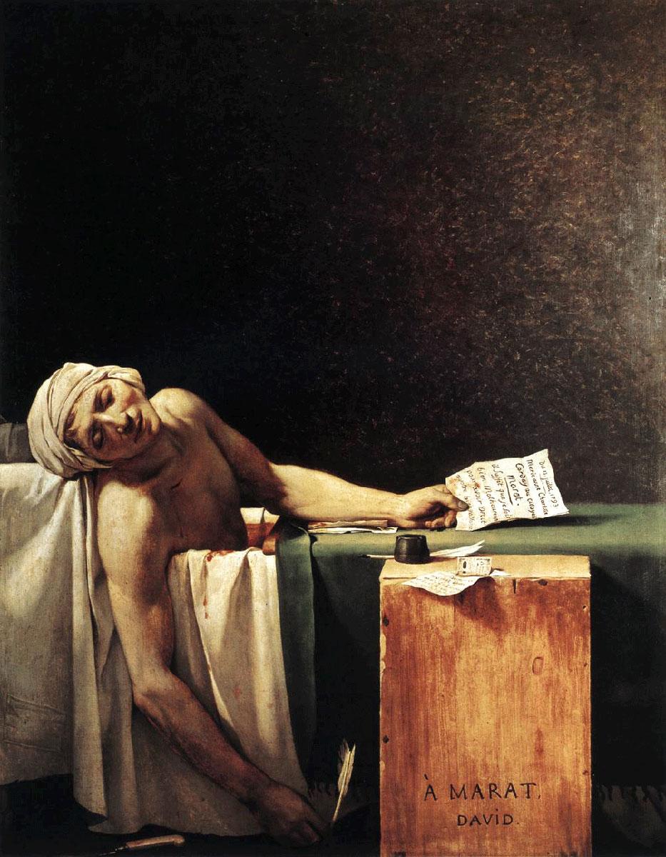 La-muerte-de-Marat