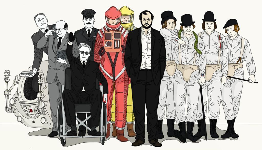 Stanley Kubrick ilustracion