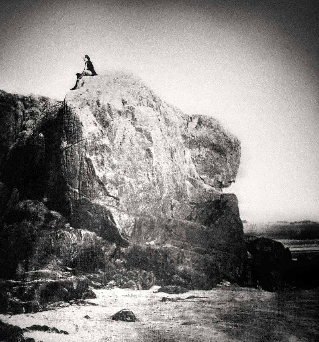 Victor en la roca
