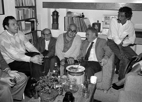 Héctor Aguilar Camín, Luis Cardoso y Aragon, Carlos Monsiváis, Julio Scherer y Francisco Toledo, Cuartoscuro