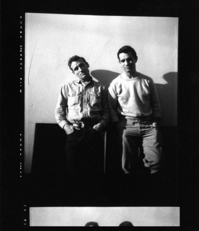 Neal Cassidy y Jack Kerouac