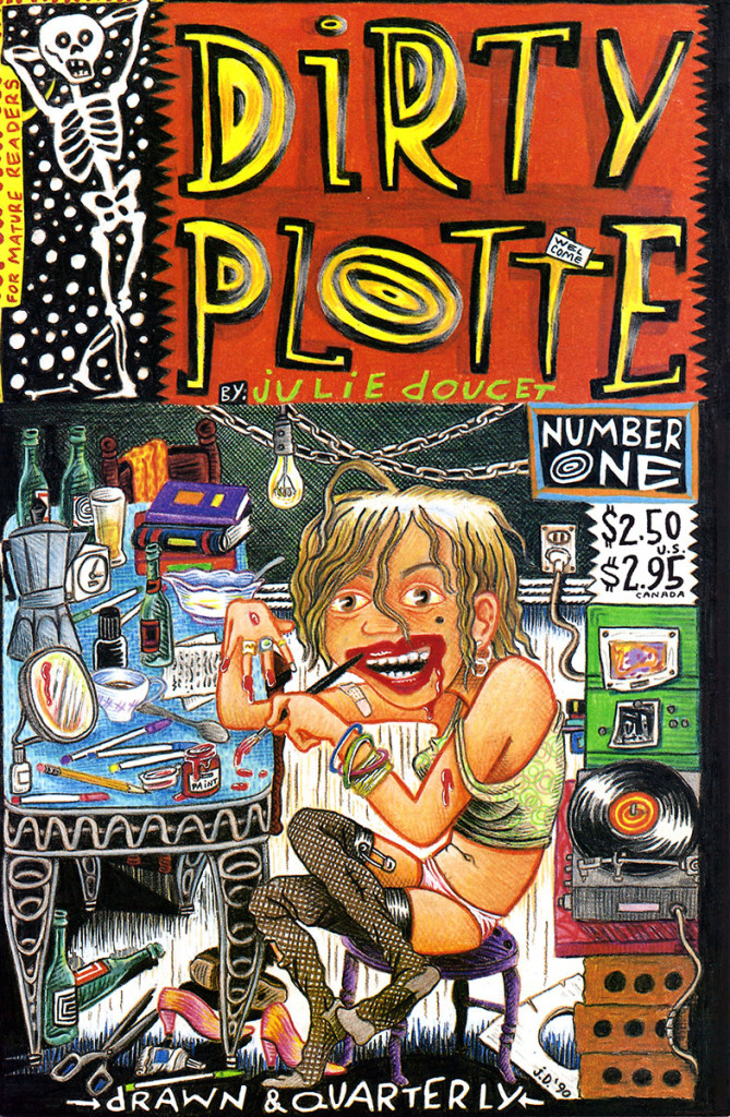 Dirty Plotte por Julie Doucet