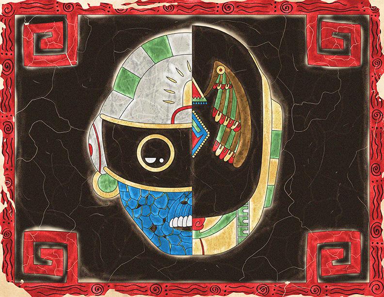 Daft Punk en códice prehispánico
