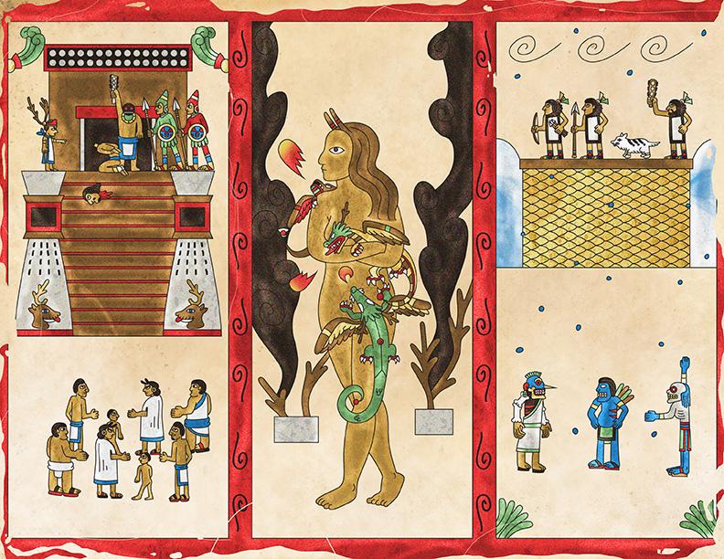 Game of Thrones en códice prehispánico