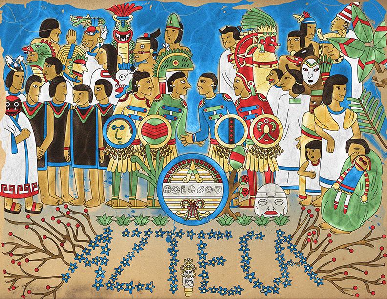 Sgt. Pepper's Lonely Hearts Club Band en códice prehispánico