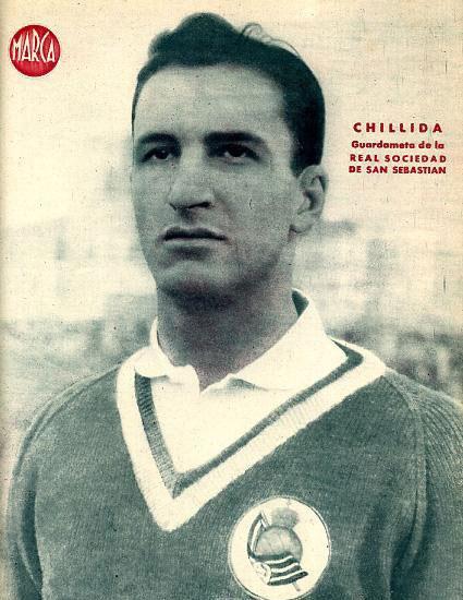 Eduardo Chillida, Real Sociedad de San Sebastian