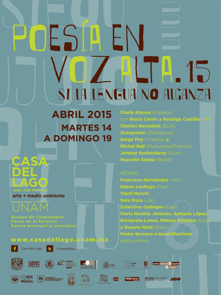 Festival Internacional Poesía en Voz Alta 2015