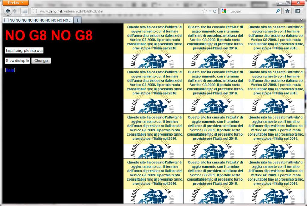 Hacktivismo, Electronic Disturbance Theater