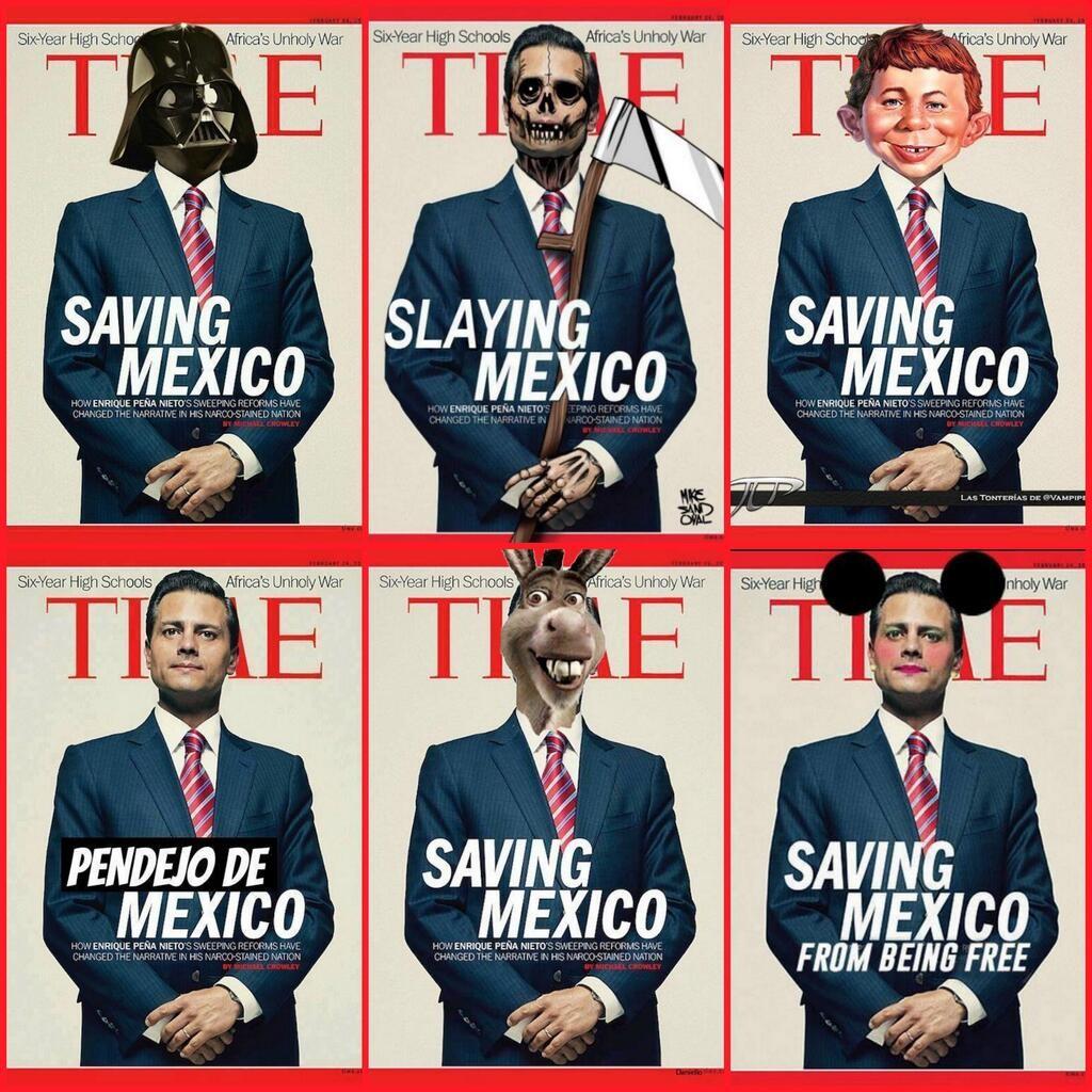 SAVING MÉXICO PARODIAS