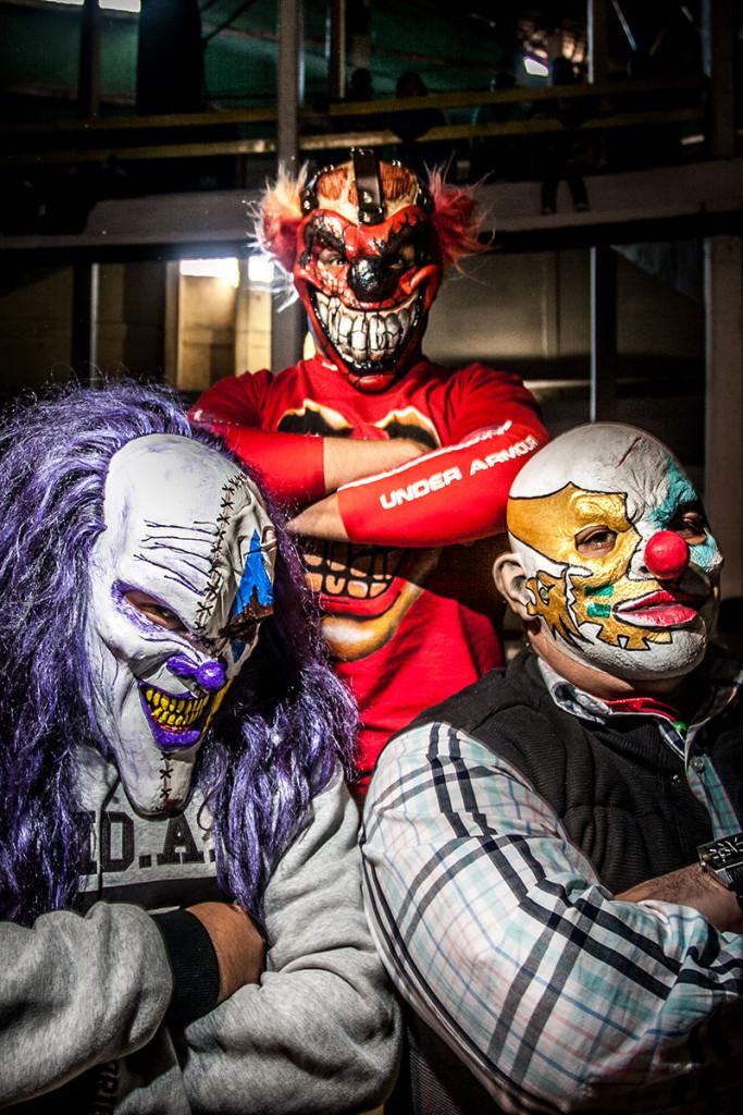 lucha-7 La-Clown-Corp