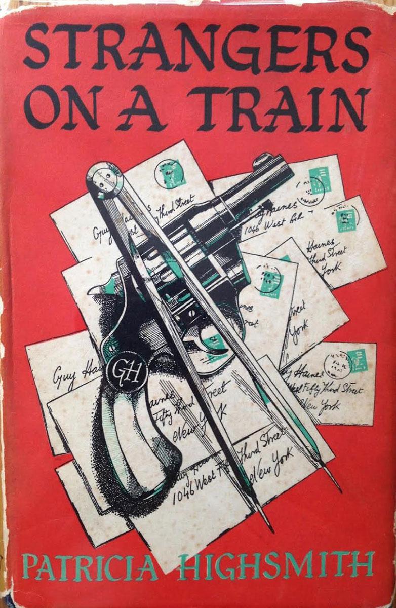 patricia-3-Extraños-en-un-tren,-primera-edición-de-Cresset-Press-en-1950