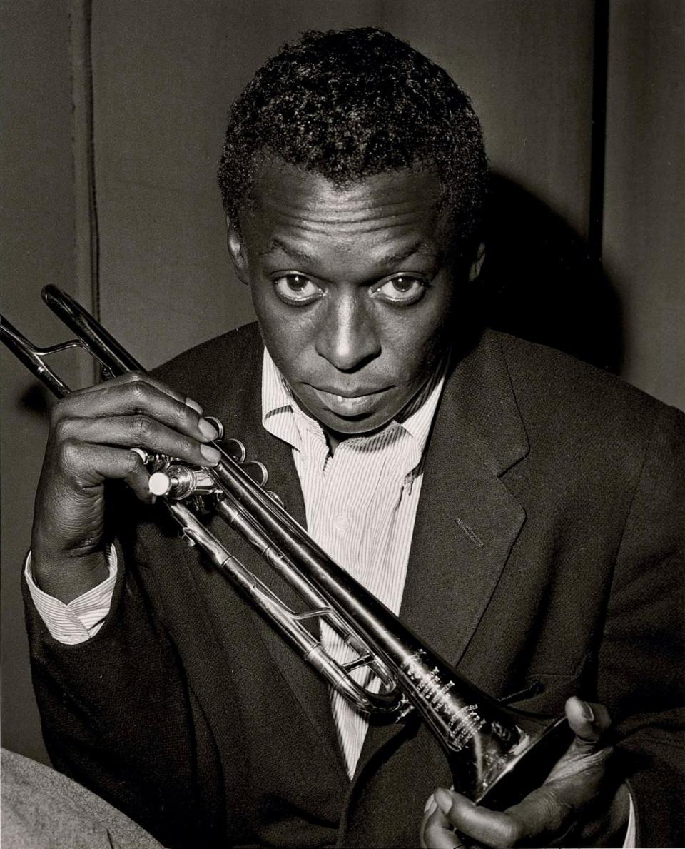 Miles Davis Herman Leonard