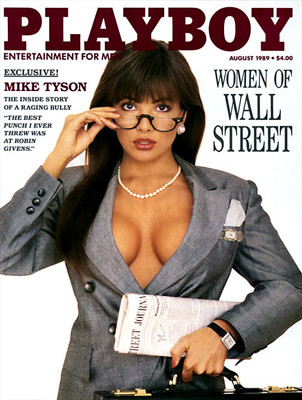 Mujeres de Wall Street Playboy