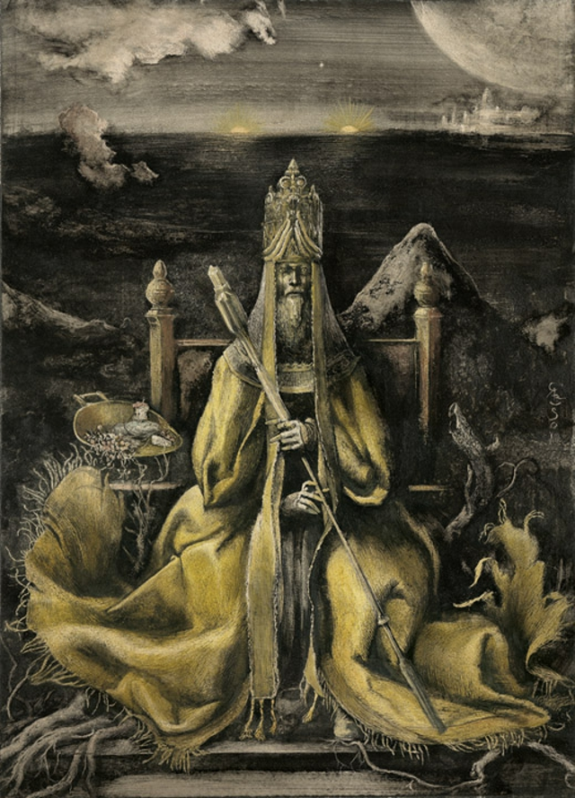 el rey amarillo santiago caruso interior