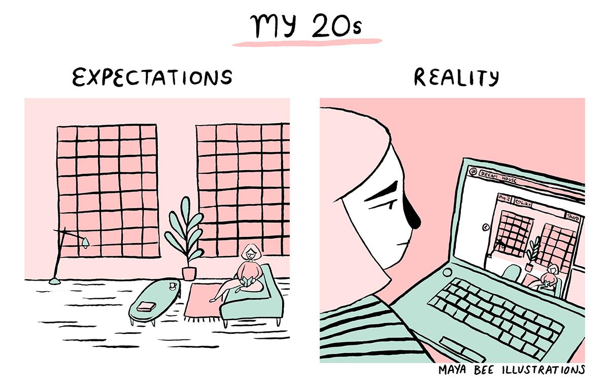 my 20s - house