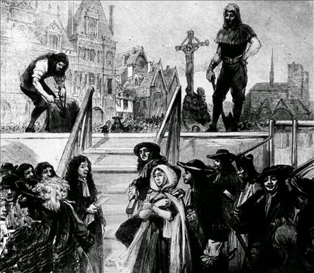 la marquesa de brinvilliers ejecución