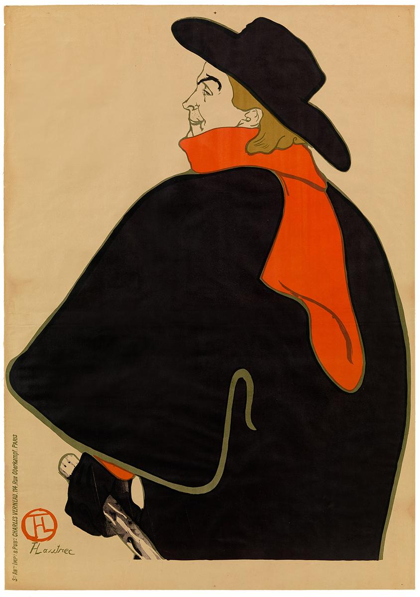 Aristide Bruant dans son cabaret 1893