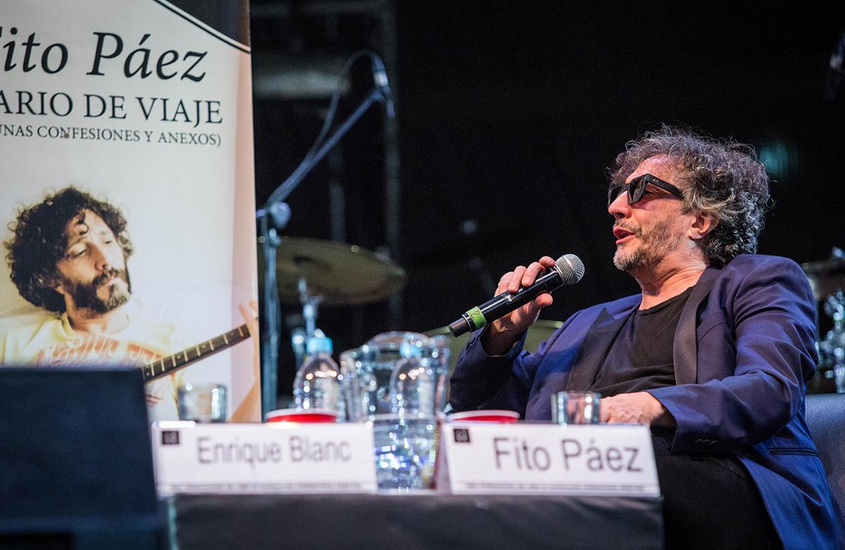 Fito Paez en la FIL 2016