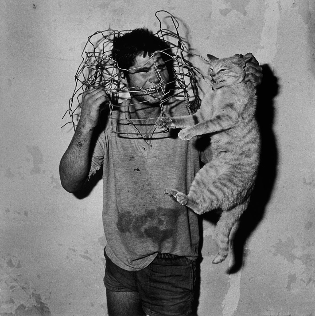 Cat catcher, 1998, Roger Ballen