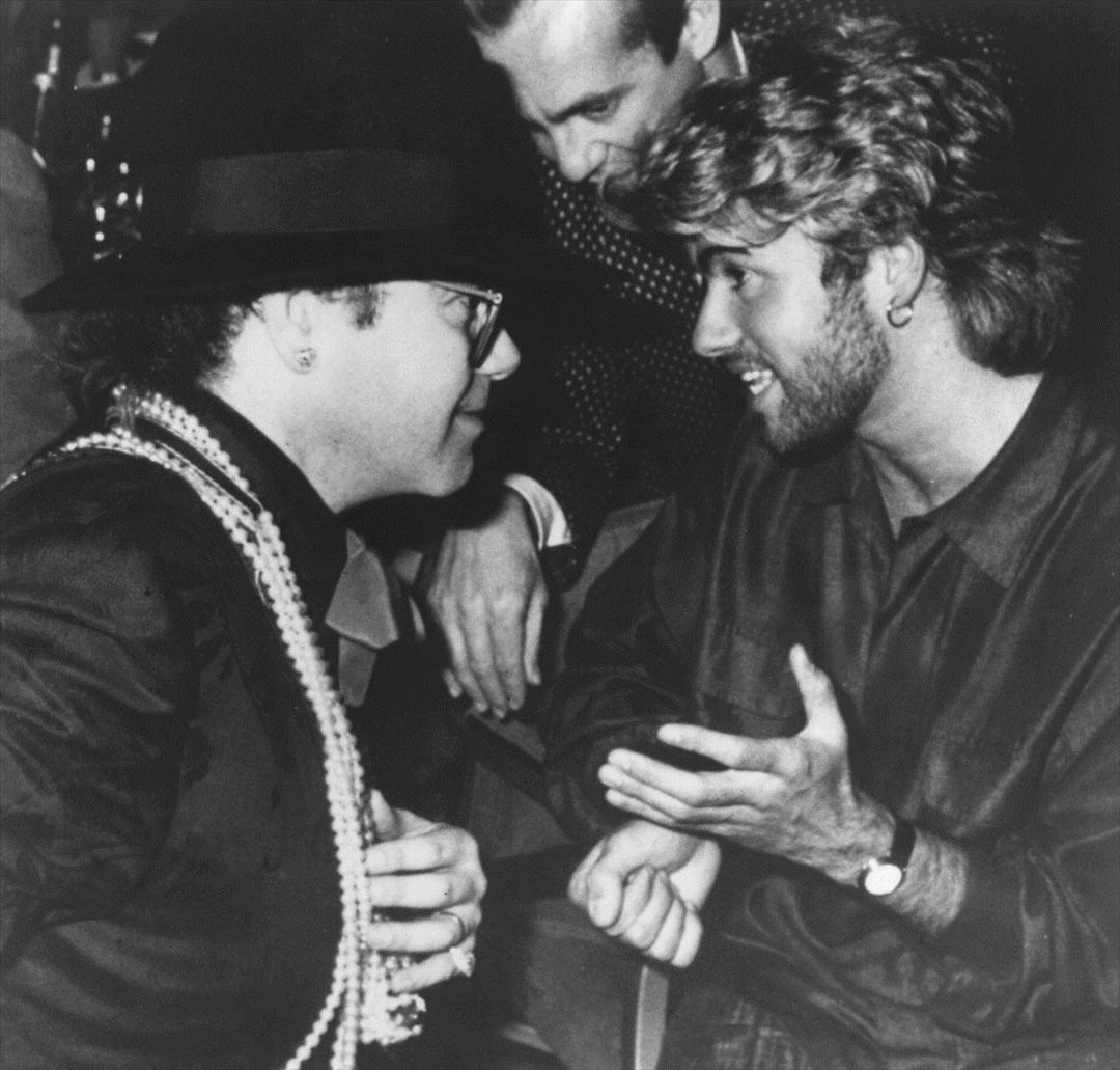 George Michael y Elton John