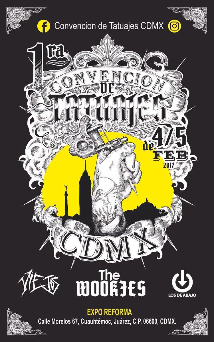 primera convencion de tatuajes en la ciudad de mexico