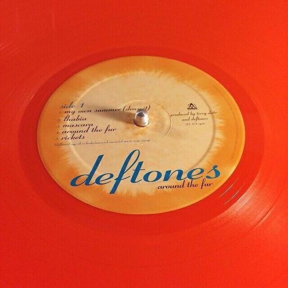 Deftones banda vinyl
