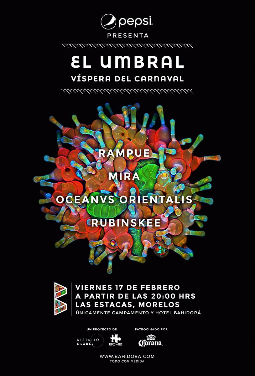 el umbral bahidora cartel 2017