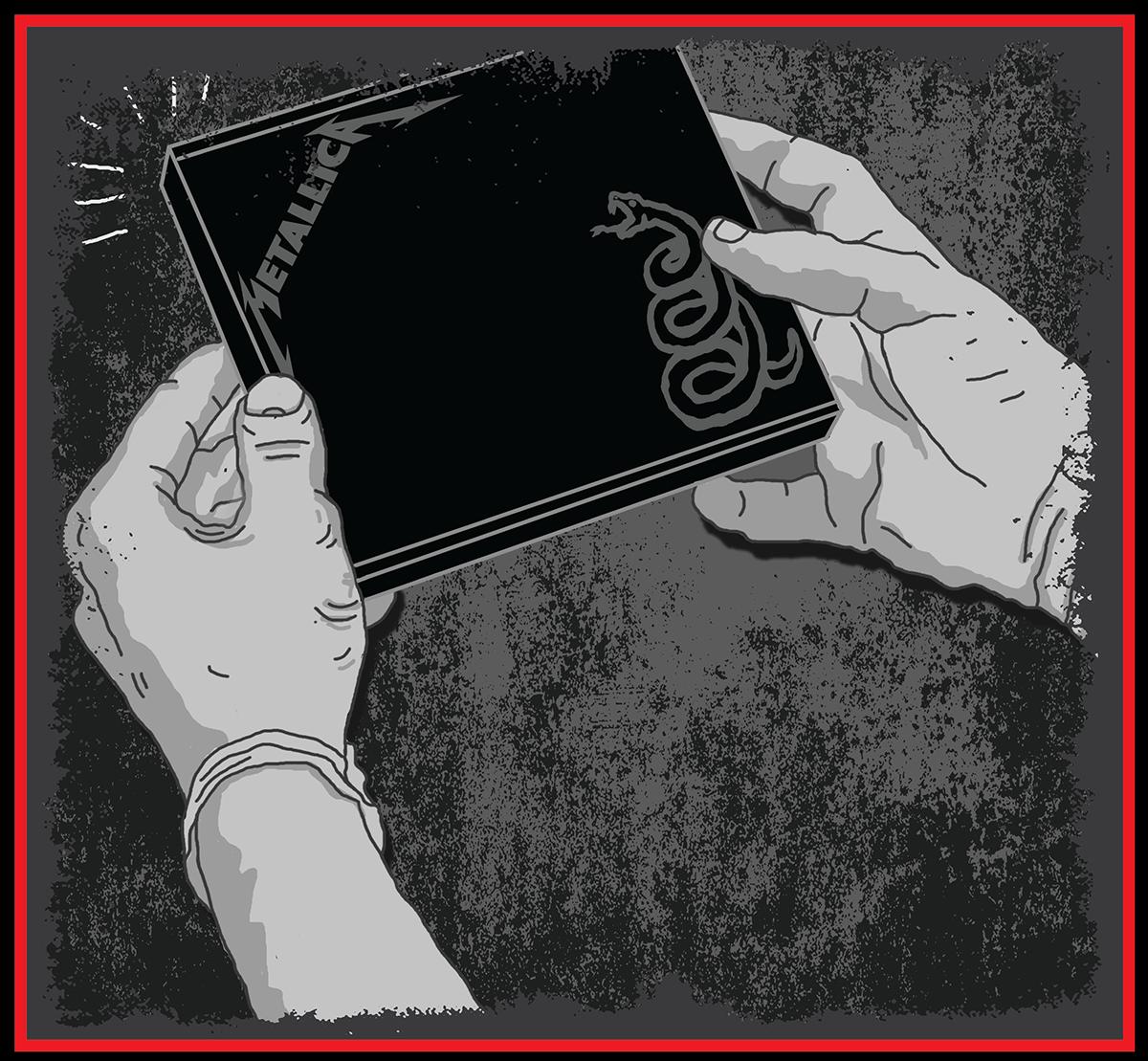 metallica yaconic kaja negra