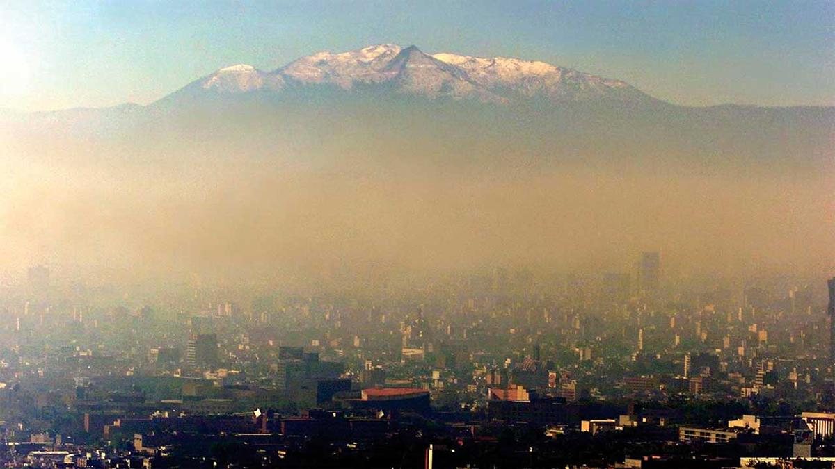 contaminacion de la ciudad de mexico