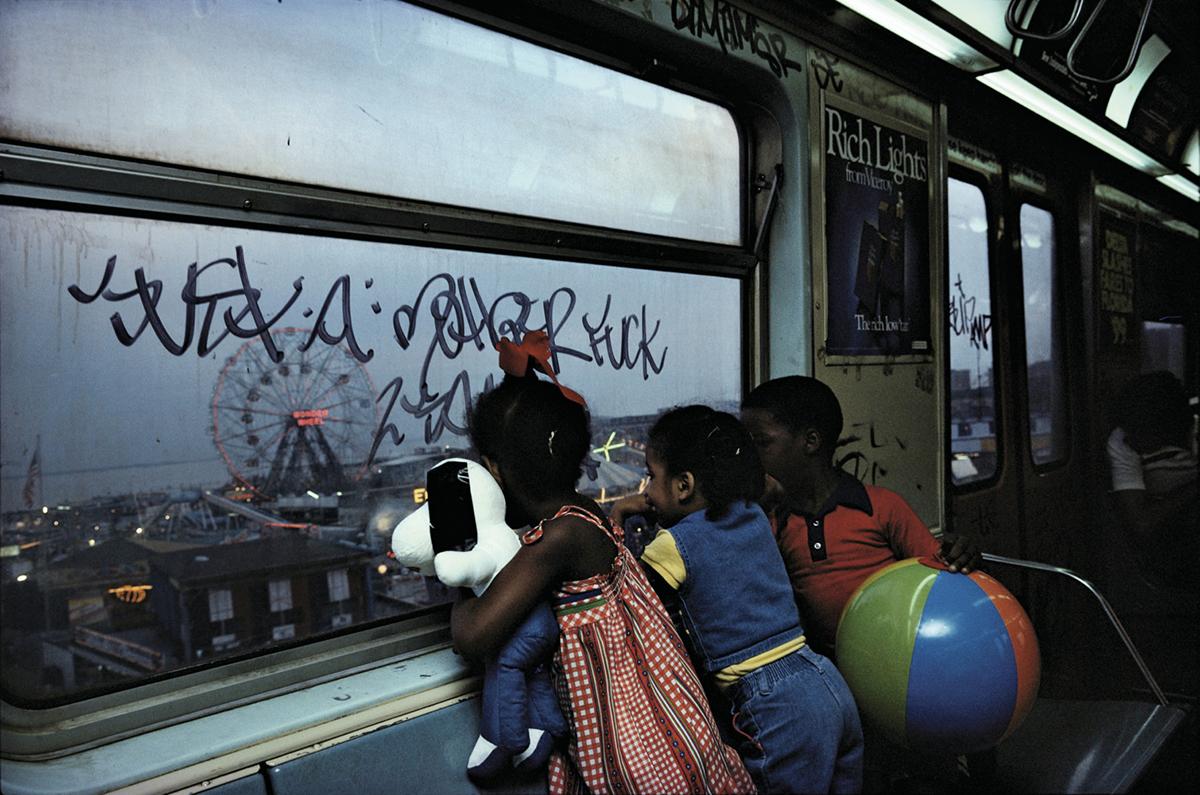 subway bruce davidson