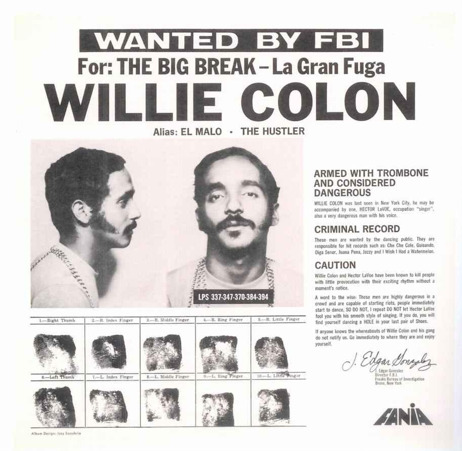willie colon, el malo