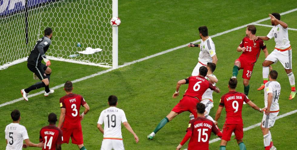 mexico vs portugal copa confederaciones